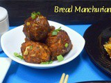 Dry Bread Manchurian | How to make Bread Manchurian