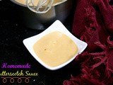 Easy Homemade Butterscotch Sauce | How to make Butterscotch Sauce