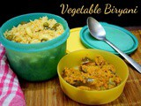 Easy No Tomato Vegetable Biryani in Pressure Cooker