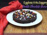 Eggless Atta Jaggery Double Chocolate Brownie