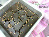 Eggless Coffee Cocoa Brownies