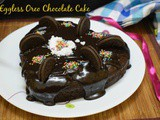 Eggless Oreo Chocolate Cake