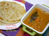 Hotel Style Vegetable Kurma for Parotta