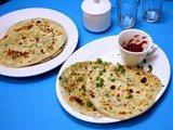 How to make Scallion pancakes | Chinese Spring Onion Flat Bread