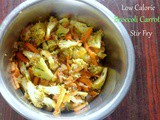 Low Calorie Broccoli Carrot Stir Fry