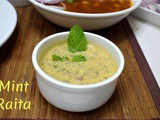 Mint Raita | How to make Pudina Raita