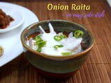 Onion Raita | How to make Onion Raita for Biryani