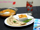 Paneer Butter Masala, yet another form