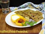 Peas Paratha | How to make Matar Paratha