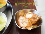 Pepper Fried Plantain Chips | Pepper Plantain Chips