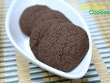 Ragi Cocoa Cookies ~ Holiday Bakes