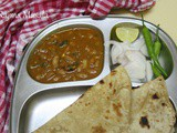 Rajma Masala with Chapati