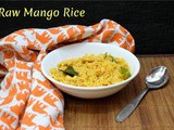 Raw Mango Rice | How to make Mamidikaya Gojju Annam