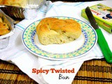 Spicy Twisted Bun | How to make Savory Twisted Buns
