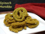 Spinach Murukku | How to make Palak Chakli