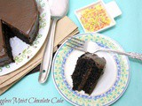 The Best Chocolate Cake Ever ~ Eggless | Moist Chocolate Cake Recipe