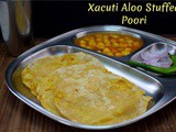 Xacuti Aloo Stuffed Poori ~ AtoZ Indian Pooris