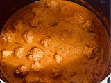 Chicken Mince Ball Curry