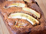 Banana bread/kruh