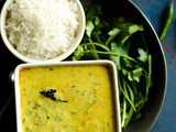 Palak Kadhi–Spinach Yogurt Curry