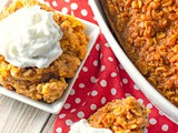 Pumpkin Pie Oatmeal Bake