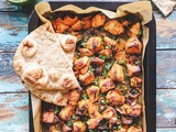 Sheet Pan Chicken Tikka with Vegetables