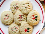 Whipped Vanilla Shortbread Cookies