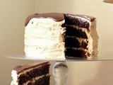 Chocolate Peanut Butter Cake/ Шоколадно-Арахисовый Торт