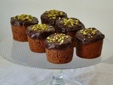Pistachio Chocolate Muffins {light}