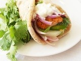 Chicken Tikka Wrap / Tandoori Roti Wrap