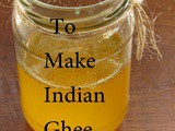 How To Make Indian Desi Ghee At Home For Weight Loss - The Traditional Way