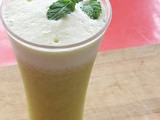 Pineapple Mint Smoothie Recipe - Fruit Smoothie Recipe