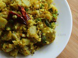 Sweet Potato Upma Recipe