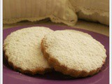 Biscotti alla Farina di Riso e Limone (Lemon Biscuits with Rice Flour)