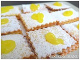 I Biscotti con la Lemon Curd (Shortbread Cookies with Lemon Curd)