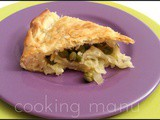 Quiche di Patate, Cipolla e Piselli (Potato and Onion Quiche)