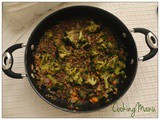 Spadellata di Broccoli e Lenticchie (a Pan of Broccoli and Lentils)