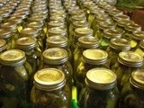 300+ Quart Jars – Dill Pickles