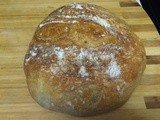 Almost No-Knead Bread — crusty, artisan-style bread with a minimum of effort