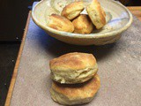 Angel Flake Biscuits — a cross between a biscuit & a roll