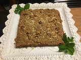 Applesauce Oatmeal Bars – a red hot recipe