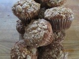 Banana Crumb Muffins . . . crunchy topping is a nice addition