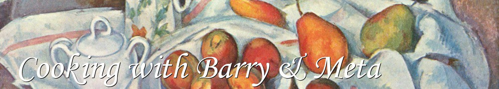 Very Good Recipes - Cooking with Barry & Meta