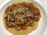 Black-eyed Pea Stew over Polenta - bring on the good luck