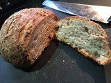 Crusty Muli-Seeded Wheat and Grain Bread -— Almost No-Knead