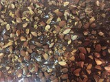 Dark Chocolate-Almond & Craisin Bark