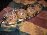 Fall Flavors: Pumpkin-Pecan Cookies with Brown Butter Frosting