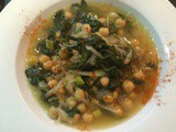 Garbanzo Bean & Spinach Soup