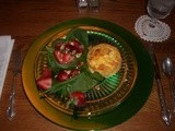 Great Brunch or Lunch Recipe — Twice-Baked Cheddar-Green Onion Soufflés