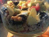 Greek Salad w/ artichokes, olives, garbanzo beans